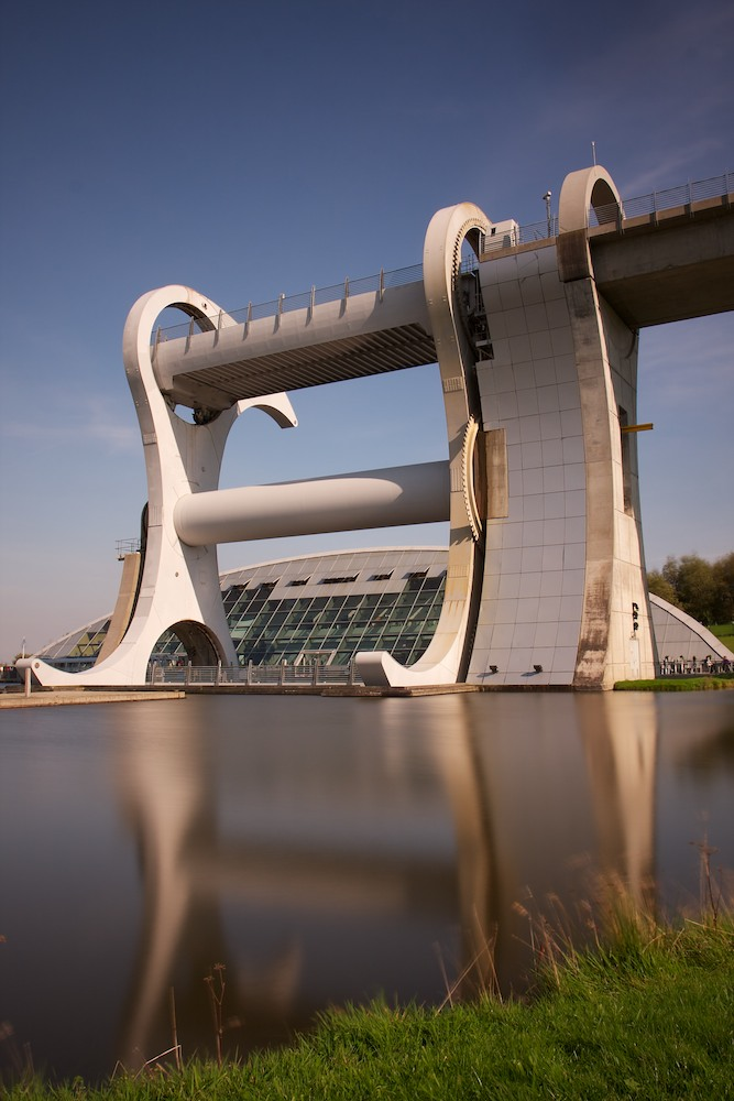 Falkirk Wheel 1 - Canon 40D + EFS 17-55mm + B+W 110 filter