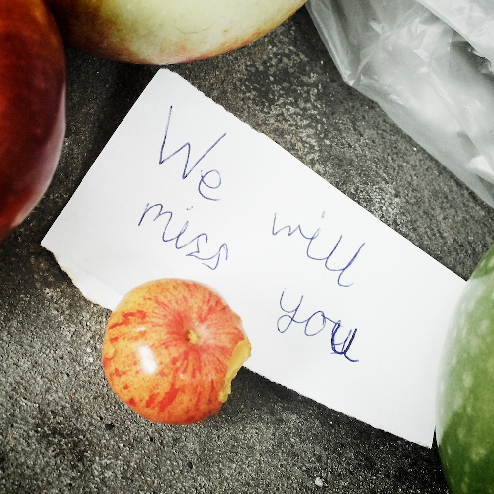 We will miss you - Fuji X100, ISO 2500, f/11, 1/40