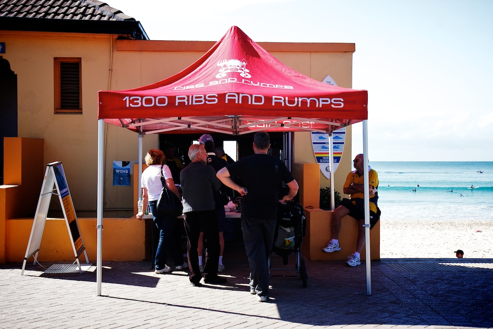 Manly beach - Ribs and Rumps