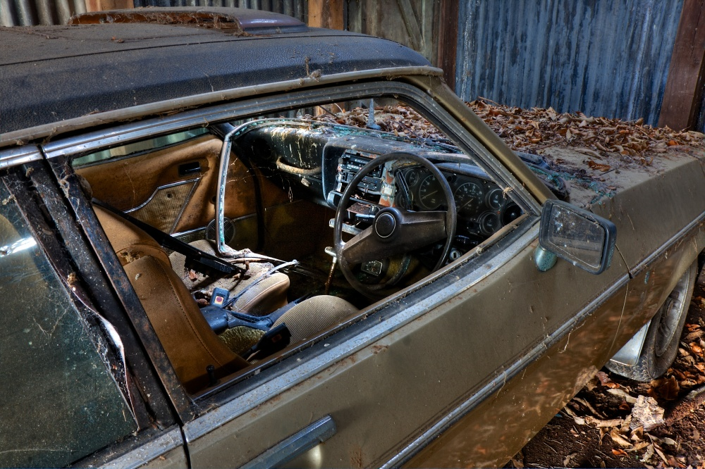 Ford Capri in decay (5/6)