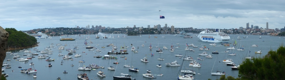 Australia Day on Sydney Harbour (1/5)